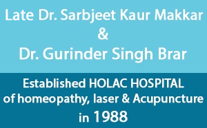 Late Dr Sarbjeet Kaur Makkar and Dr Gurinder Singh Brar Holac Hospital For Homeopathy in Mohali